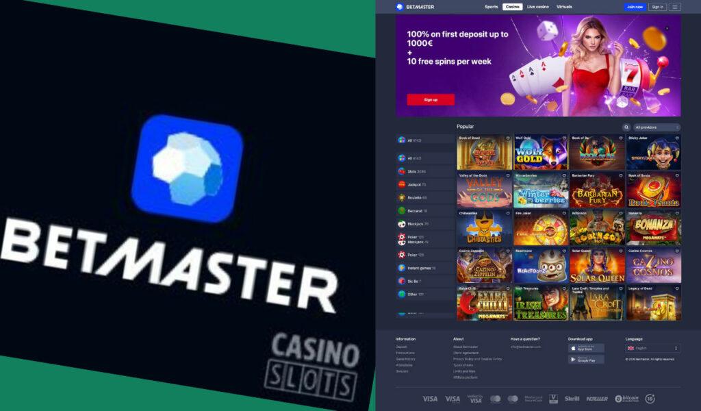 Betmaster Casino Slots