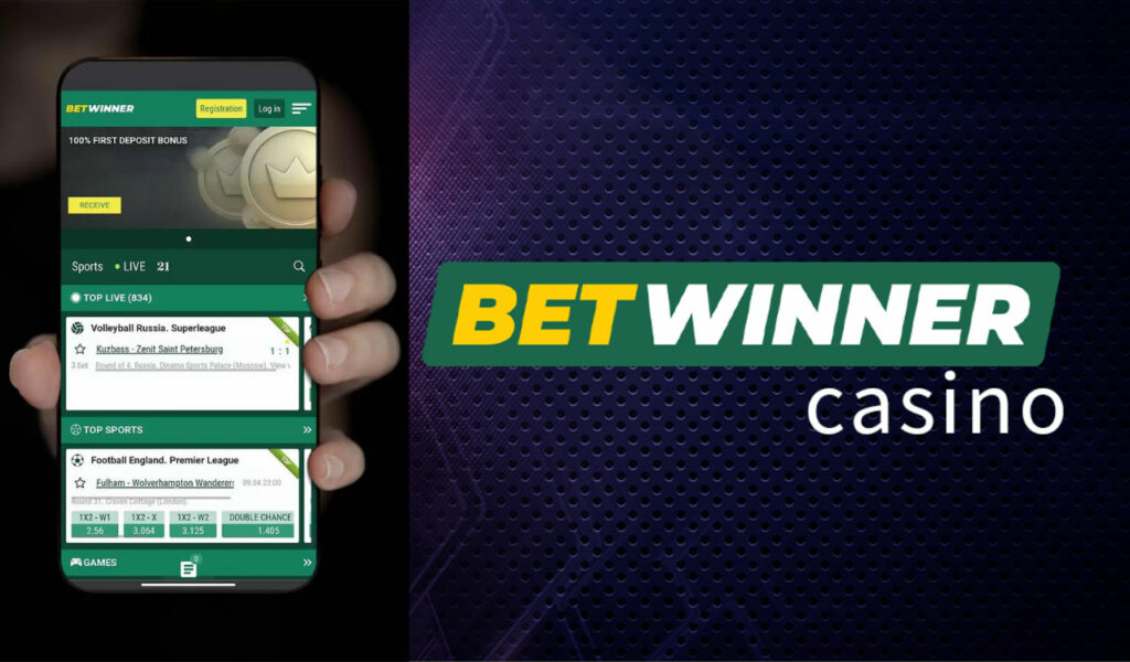 Betwinner in Androids and iOS